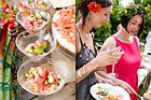 Frisk ceviche på tonfisk och vindruvor - recept