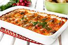 Strömmingslåda med fransk senap och tomatsås - recept