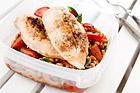 Gorgonzolafylld kycklingfile i ugn - recept