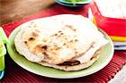 Hemlagat naanbröd - recept
