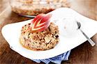 Äppelsmulpaj med hasselnötter - recept