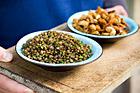 Linsmix, cashewmix (drinksnacks eller tillbehör till mat) - recept