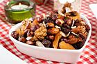 Nöt- och fruktblandning med glöggsmak (snacks) - recept