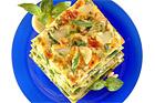 Lasagne alla Genovese, lasagne med pesto - recept
