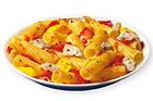 Tortiglioni med kyckling och paprika - recept