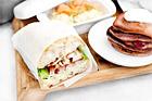 Club sandwich på surdegsbröd - recept