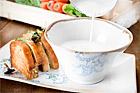 Rotsellerisoppa med svampmacka - recept