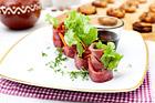 Biffrullar med het pepparkaksdip (plockmat) - recept