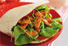 Kycklingfilé i pitabröd - recept