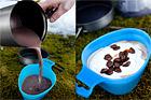 Varm choklad med apelsin, vanilj och daim - recept
