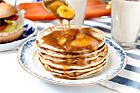 Pancakes med banankola - recept