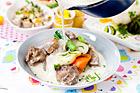 Gryta på lamm med primörer - recept