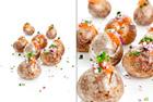 Bakad färskpotatis med löjrom, gräddfil och rödlök - recept