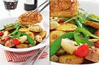 Kycklinglår med grönskande potatissallad - recept