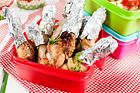 Kycklingdrumsticks med melonsalsa - recept