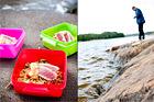 Bulgursallad med tonfisk och ajvaryoghurt - recept