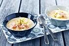 Soppa på fänkål med torsk och räkor - recept