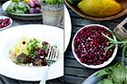 Viltköttbullar med stomppotatis - recept