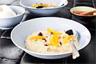 Apelsinrisotto med mascarpone och nötter - recept