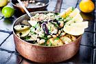Lammgryta med ris, aubergine och zucchini - recept