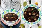 Brynt kålsoppa med frikadeller - recept