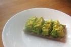 Avokado på knäckebröd - recept