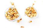 Karamelliserade popcorn - recept