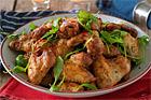 Hickorykryddade kycklingvingar - recept