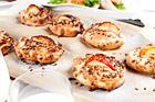 Grova scones med äpple och nötter - recept