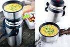 Kycklingsoppa med curry och cocosmjölk - recept
