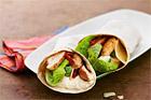 Kycklingwrap med parmesancreme - recept
