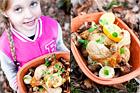 Kyckling med svamp och lök i lergryta - recept