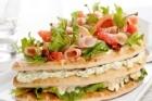Fruktig smörgåstårta - recept