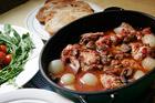 Kyckling Marengo, Napoleons segermåltid - recept