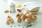 Havre- och rågbullar med pumpafrön - recept