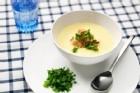 Majssoppa med grillad kyckling - recept
