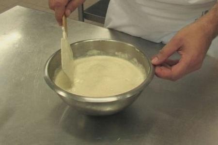 Pâte à frire, klassisk fransk frityrsmet
