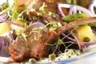 Lammracks provencale med sparris och potatissallad - recept