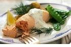 Kokt hel lax, laxöring och röding på klassiskt vis, varm eller kall - recept