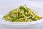 Linguine con pesto alla Genovese, pestopasta - recept