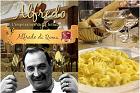 Maestosissime fettuccine all Alfredo (fettucini al burro), klassisk smörpasta  - recept