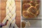 Hemlagad challah, vitt judiskt sabbatsbröd - recept