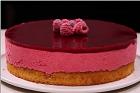 Tarte Bavaroise framboise (ou fraise), hallonfromagetårta (eller jordgubb) - recept