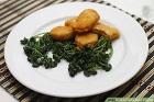 Friterad persilja - recept