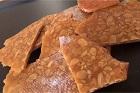 Nougatine, fransk hård nötknäck (smörknäck) - recept