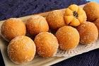 Koreanska chapssal doughnuts, munkar med söt bönfyllning - recept