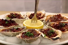 Oysters Kirkpatrik (Kilpatrik), gratinerade ostron - recept