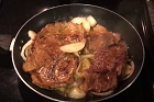 Pannstekt skivad fläskkarré - recept