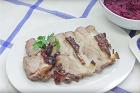 Schweinbraten mit Dunkelbiersosse, klassisk bayersk fläskstek med mörk ölsås - recept