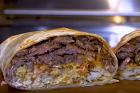 California burritos, stekt/grillat kött i tortillabröd - recept